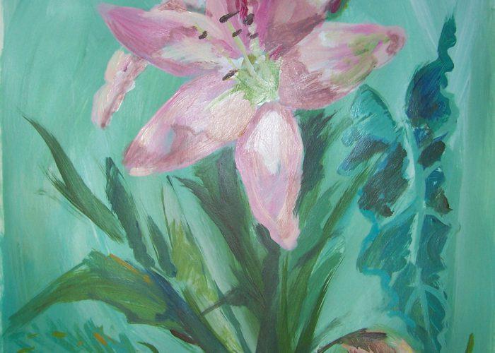 les bloemen en planten