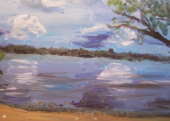 acryl Lucht en water