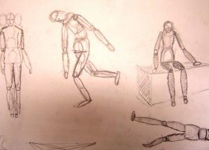 Modeltekenen tekenlessen tekenworkshops