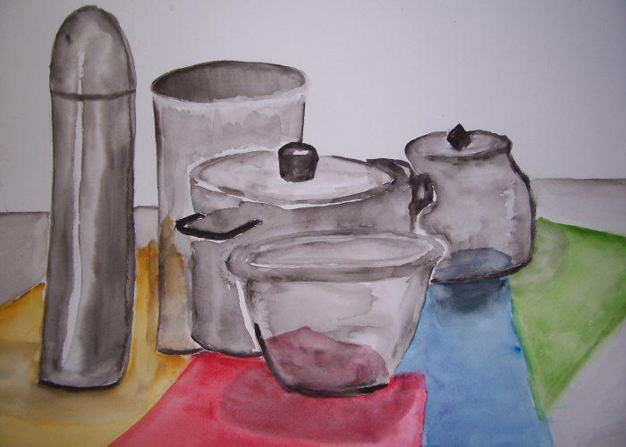 les 3 zilveren potten