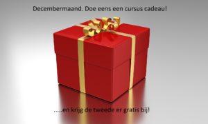 Doe eens een cursus cadeau