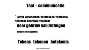 Tekenen is communiceren